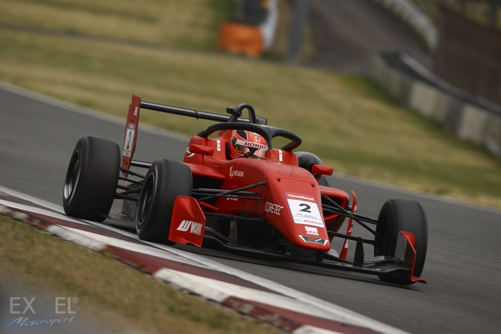 Ren Sato Super Formula Lights Rd.1-3